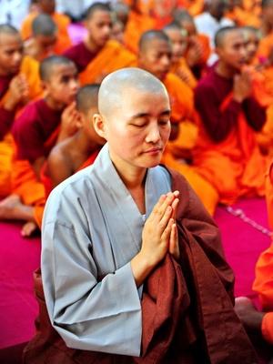 La celebración tiene una tradición de siglos, aunque la decisión de señalar la conmemoración se formalizó por primera vez en el año 1950, durante una cumbre de la Conferencia de la Comunidad Mundial de Budistas celebrada en Sri Lanka.
