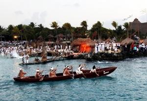 Realizan mayas Travesía Sagrada