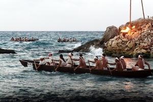 Indígenas Mayas de Quintana Roo realizan la tradicional Travesía Sagrada Maya