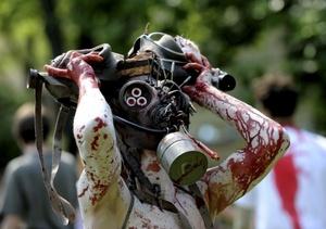 Algunos optaron por crear sus propios diseños de zombies.
