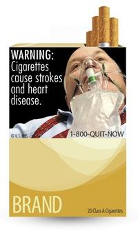 La agresiva campaña, ya anunciada por el Departamento de Salud el pasado noviembre, acompaña las imágenes con advertencias más grandes y gráficas que nunca, dadas hoy a conocer.