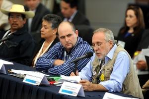 El escritor Javier Sicilia sostuvo que los representantes de la sociedad civil no han recibido ni una llamada del Poder Judicial.