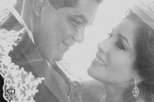 María Elena Sifuentes Reza y Sr. Manuel de Jesús Torres Valles, el día de su boda.- <p> <i>Wendy González Fotografía</i>