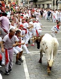 Los sanfermines congregan cada año por estas fechas a cientos de miles de personas, muchos de ellos visitantes de todo el mundo, que acuden a Pamplona a disfrutar de las fiestas españolas más internacionales.