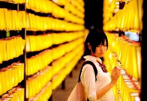 El festival es celebrado durante cuatro días en el tempo Yasukuni de Tokio, Japón.