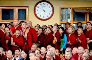 En el exilio viven actualmente unos 140,000 tibetanos.