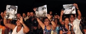 Apartado de actos públicos, el expresidente cubano estuvo ausente de una velada artística en homenaje a su onomástico.