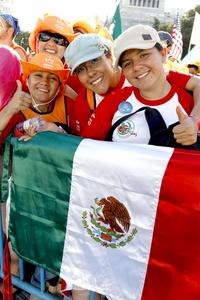 Jóvenes mexicanos también viajaron a Madrid para la Jornada Mundial de la Juventud.