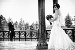 Fotografía de estudio Blanca Fabiola de los Santos Hernández, el día de su boda con Kevin Eeckeman. <p> <i>Maqueda Fotografía</i>