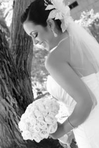 Adriana Margarita Mora Galindo captada el día de su unión con el Lic. Sergio Javier Álvarez Muñoz.- <p> <i>Susunaga Fotografía</i>