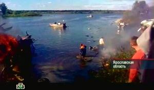 El Ministerio de Sanidad de Rusia, citado por la agencia rusa de noticias Novosti, confirmó que hay dos sobrevivientes, ambos en estado de suma gravedad: el jugador ruso Alexandr Galímov y un miembro de la tripulación.