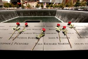 Los familiares de las víctimas vieron  fluir el agua en las dos inmensas fuentes construidas donde alguna vez se erigieron las Torres Gemelas, y la desesperación por el lento ritmo de la reconstrucción latente en otros aniversarios quedó de lado al ver por fin el Memorial del 11-S inaugurado oficialmente.
