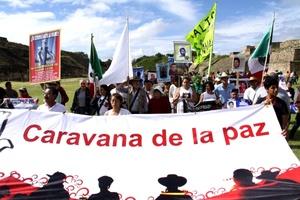 Pueblos indígenas, femenicidios, víctimas de delincuencia organizada y violaciones a derechos humanos son algunos de los temas que se discutirán durante la presencia en Oaxaca de la caravana al sur que encabeza el poeta Javier Sicilia.
