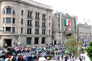 En el desfile participaron un total de  3 mil 600 gentes.