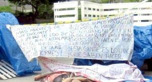 El gobernador veracruzano condenó el hecho en Boca del Río y agregó que en su gobierno no hay cabida para la delincuencia.