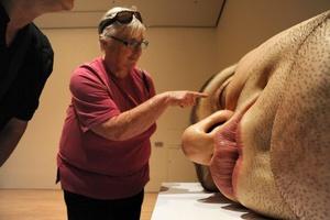 La muestra se compone de nueve esculturas únicas, titulada Hiperrealismo de alto impacto.