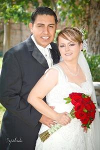 Héctor el día de su boda efectuada el 27 de agosto de 2011.-  <p> <i>Sepúlveda Fotografía</i>