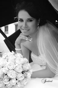 Georgina González Pérez unió su vida a la de Sr. Juan Gerardo Soto Vázquez. <p> <i>Sandoval  Fotografía</i>