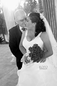 Muy contentos el día de su boda fueron captados Srita. Jéssica Vanessa Pérez Ortega y Sr. Adolfo Rafael Peña Hernández.   Rofo Fotografía
