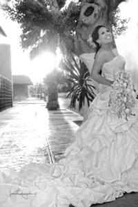 Srita. Karina Miramontes Limones unió su vida en matrimonio a la del Sr. Érick Eduardo Chavarría Rodríguez.   Estudio Laura Grageda