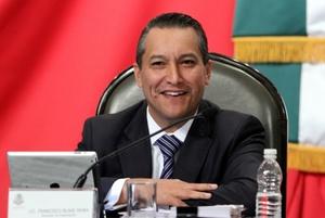 Blake viajaba hacia el estado central de Morelos para asistir a un encuentro de impartidores de justicia.