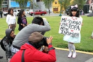 El objetivo central de la manifestación fue exigir no más muertes de mujeres en Panamá, no al machismo y no a la violencia doméstica, afirmaron.