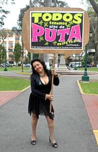 Cientos de personas participaron en la primera Marcha de las Putas en Panamá.