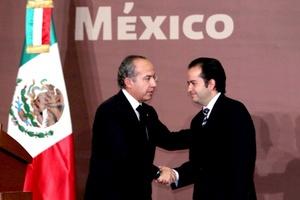 El politólogo Alejandro Poiré Romero fue nombrado secretario de Gobernación por el presidente Felipe Calderón, seis días después de la muerte de Francisco Blake Mora en un accidente de helicóptero.