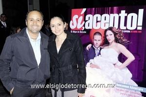 02122011 ALEJANDRO  Rodríguez y Nora Rangel.