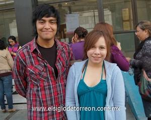 08122011 PACO  Macías y Aimeé Rocha.