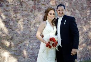 Gallegos Hernández y Ernesto Galindo Obregón contrajeron matrimonio civil el seis de noviembre de 2010.