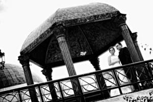 Srita. Ileana Márquez Martínez y Sr. Francisco Morales Herrera el día de su boda. <p> <i> Maqueda Fotografía</i>