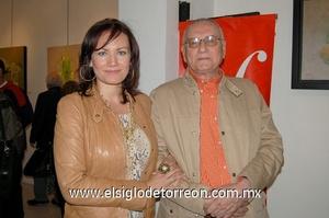 10122011 ÉRIKA  Valbuena Chapoy y Sergio Chapoy.