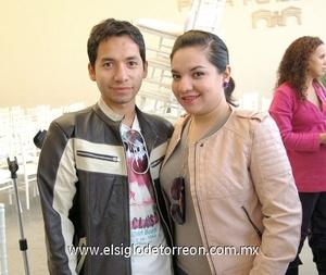 14122011 Carlos Ortega y Fernanda Ortega.