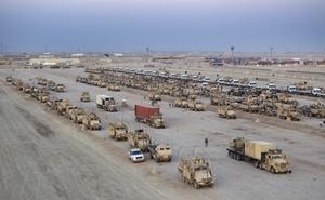 Con la transferencia del control de la base Imán Ali, como la conocen los iraquíes, o Camp Ader, como la llaman los estadounidenses, en Al Nasriya, en el sur, los norteamericanos concluían la entrega de las 505 bases que han estado bajo su supervisión todos estos años en Irak.