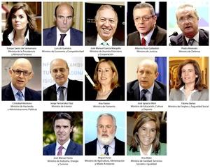 El nuevo presidente de España, anunció la composición de su nuevo ejecutivo, compuesto por nueve hombres y cuatro mujeres.