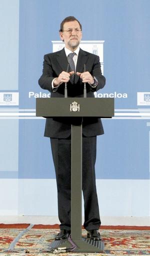 Mariano Rajoy, nombró un gobierno más reducido integrado por trece miembros