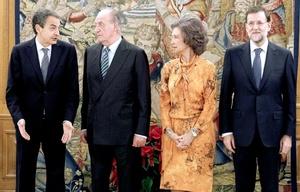 Tras la publicación oficial de su nombramiento en el Boletín Oficial del Estado, el dirigente del Partido Popular (PP) hizo el juramento en el Palacio de la Zarzuela.