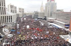 Las recientes protestas en Moscú y otras ciudades han hecho mella en la autoridad de Putin en momentos en que busca recuperar la presidencia en unos comicios en marzo