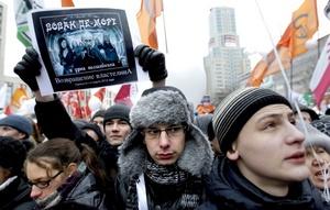 Han sido las mayores muestras de descontento que el país ha visto desde la desaparición de la Unión Soviética en 1991.
