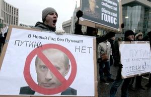 La protesta en Moscú fue aún mayor que una manifestación similar hace dos semanas.