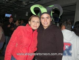 24122011 OLIVIA  Hurtado y Víctor Habib.