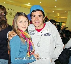27122011 YACKELINE  Valdés y Omar Huízar.
