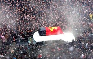 Miles de norcoreanos salieron a las calles a despedir a su ex líder.