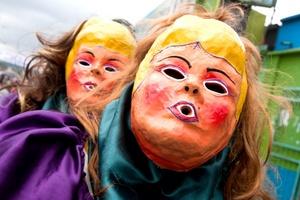 Esta es una tradición con elementos católicos e indígenas que se conoce como Los Zaragozas.