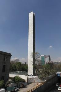 La Estela de Luz quedó prácticamente lista para su inauguración en los primeros días del 2012.