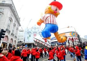 En Londres realizaron la 25º edición del tradicional desfile de Año Nuevo.