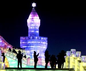 El festival Harbi se realiza cada año como presentando increibles esculturas de hielo.