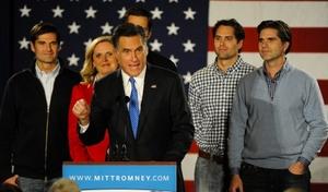 Mitt RomneyPronuncia su discurso.