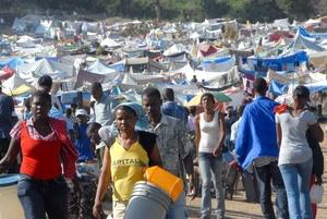 Casi mitad de la ayuda a Haití sigue pendiente a dos años del sismo.